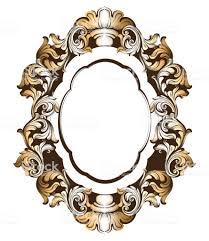 Mirror frame vector Transparent Background Baroque Golden Mirror Frame Vector French Luxury Royaltyfree Baroque Golden Mirror Frame Vector Istock Baroque Golden Mirror Frame Vector French Luxury Stock Vector Art