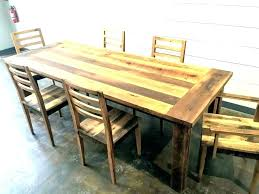large round wood dining room table rustic reclaimed wood farmhouse dining table round barn room large