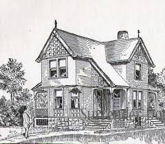 House Plans From Shoppellu0027s Early Work Numbers 155 House Plans Victorian Cottage Plans
