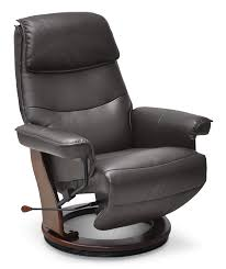 boyd faux leather reclining chair brown united ovela faux leather recliner chair