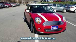 Used 2013 Mini Cooper 2dr Cpe At Milton Martin Honda 33765b Honda Bmw Car Mini Cooper