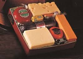 wisconsin cheese sausage red gift box