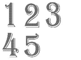 number templates 1 10 wedding table numbers 1 10 cross stitch pattern cross stitch