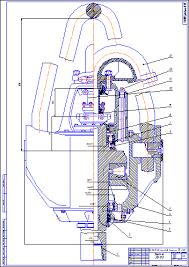 Поиск Клуб студентов Технарь  Буровой вертлюг УВ 250 Чертеж Оборудование для бурения нефтяных и газовых скважин