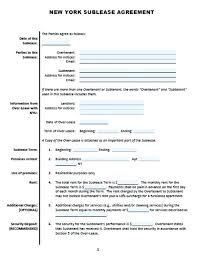 Commercial Sublease Form Commercial Sublease Form Commercial Lease ...