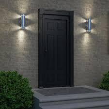 outdoor wall lighting ideas. Stainless Steel Light Fixtures Wall Fixture Using Exterior Lighting Ideas Outdoor L