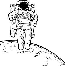 Astronaut Maan Ruimte Gratis Vectorafbeelding Op Pixabay
