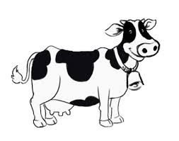cow clipart black and white. Unique Black Black And White Cow Clipart 1 For L
