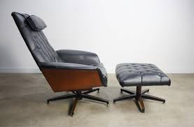 modern lounge chair with ottoman elegant mid century modern george mulhauser plycraft mr chair bentwood