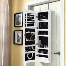 design mirrored jewelry closet pottery barn park white armoire stunning ideas