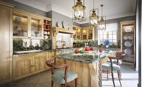 beautiful luxury kitchen with nifty chandelier design ideas