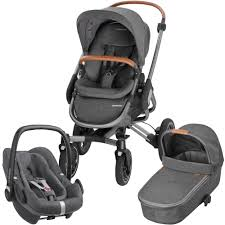 maxi cosi nova pebble plus travel system package sparkling grey