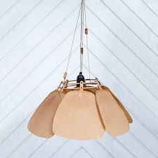 uchiwa seven fan chandelier ingo maurer