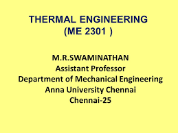 THERMAL ENGINEERING (ME 2301 ) - ppt video online download