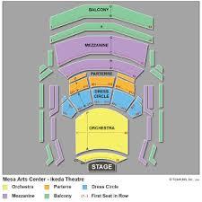 Mesa Arts Center Seating Chart Ikeda Theater Mesa Seating Chart Related Keywords