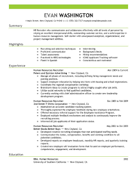 Recruiter Resume Sample Gallery of resume recruiter sales Recruiter Resume Examples 71