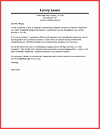a good cover letter example | memo example