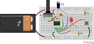 led potentiometer wiring diagram wiring diagram libraries 555 timer basics monostable modeif you adjust the potentiometer you should see that the led