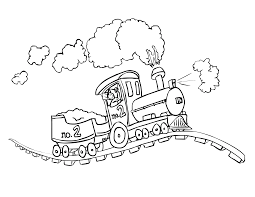Train Coloring Pages Online