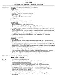 Greenhouse Resume Examples Research Internship Resume Samples Velvet Jobs 29