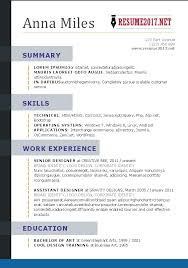 ... Resume Format 2017 16 Free To Download Word Templates Current Resume  Styles Template