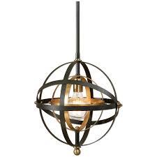 sphere pendant light. Amazon.com: Uttermost 22039 Rondure 1 Light Sphere Pendant, Mini: Home \u0026 Kitchen Pendant