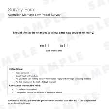 ssm abs releases same sex marriage postal survey form abc news ssm abs releases same sex marriage postal survey form abc news n broadcasting corporation