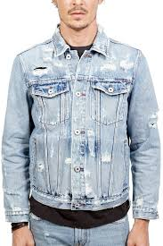 Cult Of Individuality Size Chart Type 2 Distressed Denim Jacket