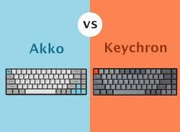 So sánh bàn phím Akko với Keychron - SiliconZ