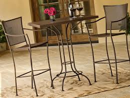 tall patio table. Wrought Iron Tall Patio Chairs Table I