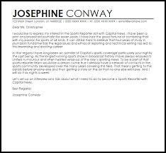 Sports Job Cover Letter Under Fontanacountryinn Com