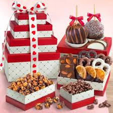 Looking for a special gift for your valentine? Chocolate Perfection Valentine Gift Tower With Caramel Apples Atc0307v A Gift Inside