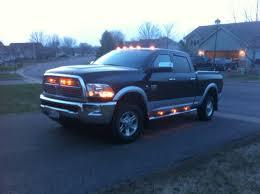 2016 Ram 2500 Cab Lights Anyone Think The Clear Cab Lights With Amber Bulb Are Not