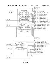 patent us4887290 cellular alarm backup system google patents patent drawing