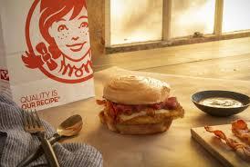 bacon maple en sandwich wendy s