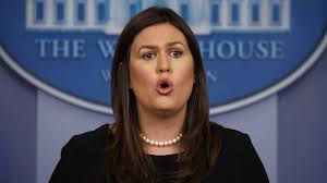 Image result for sarah huckabee sanders