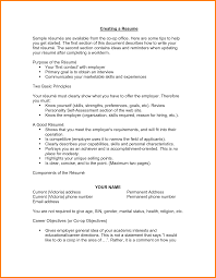 Cover Letter Objective For Resume First Job Objective Statement