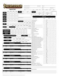 character sheet pathfinder paizo com community use package pathfinder roleplaying game