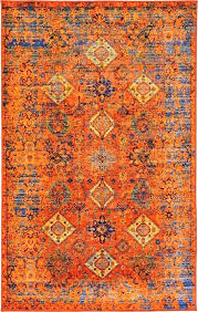 orange area rug for burnt and grey rugs thelittlelittle idea 13