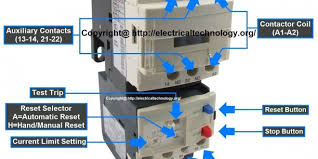rated characteristics of electrical contactors contactor and thermal overload relay wiring diagram Contactor And Thermal Overload Relay Wiring Diagram #12