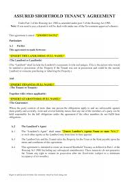 Sample Tenancy Agreement Tenancy Agreement Template Resume Template Sample 24