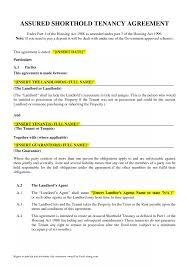 Blank Tenancy Agreement Template Tenancy Agreement Template Resume Template Sample 8