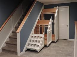 Image of: Under Stairs Storage Shoes