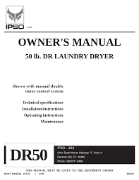 ipso dr50 user's manual manualzz com Ipso Dryer Manual at Ipso Dryer Parts Wire Harness