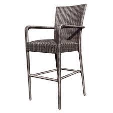 whitecraft by woodard wicker counter chair
