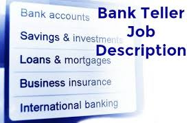 Bank Teller Job Interview Questions Bank Teller Job Description