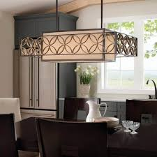 maison de ville traditional chandelier murray feiss dining kitchen remy heritage bronze island light