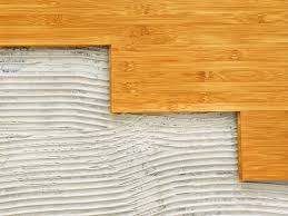 how to install bamboo flooring on a wood suloor