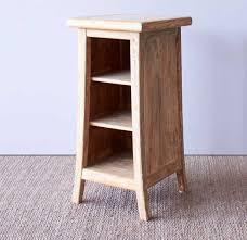 bedroom furniture bedside tables. Teak Bedside Table | Tall - Whitewash Bedroom Furniture Tables
