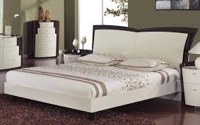 Global Bedroom Furniture Global Furniture Usa New York Platform Bed Beige Wenge Gf